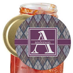 Knit Argyle Jar Opener (Personalized)