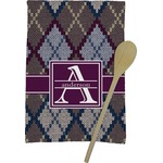 Knit Argyle Kitchen Towel - Full Print (Personalized)