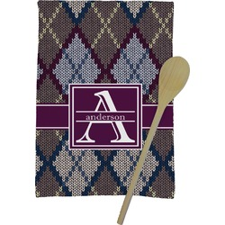 Knit Argyle Kitchen Towel - Full Print (Personalized)