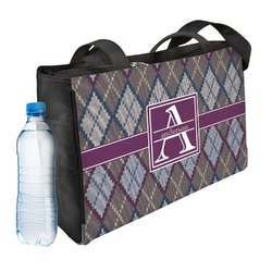 Knit Argyle Ladies Workout Bag (Personalized)