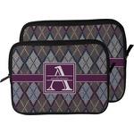 Knit Argyle Laptop Sleeve / Case (Personalized)
