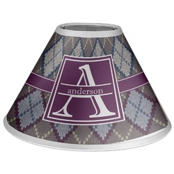 Knit Argyle Coolie Lamp Shade (Personalized)