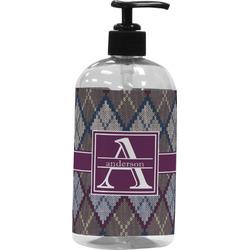 Knit Argyle Plastic Soap / Lotion Dispenser (Personalized)