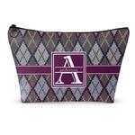 Knit Argyle Makeup Bags (Personalized)