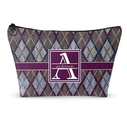 Knit Argyle Makeup Bags (Personalized)