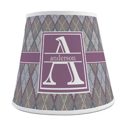 Knit Argyle Empire Lamp Shade (Personalized)