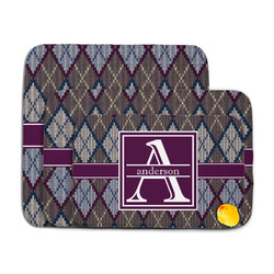 Knit Argyle Memory Foam Bath Mat (Personalized)