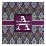 Knit Argyle Large Microfiber Dish Rag (Personalized)