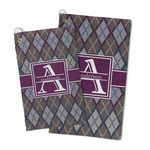 Knit Argyle Microfiber Golf Towel (Personalized)