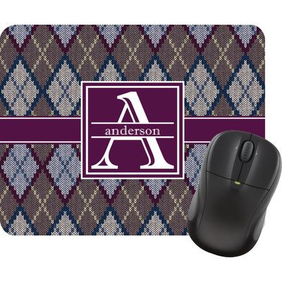 Knit Argyle Mouse Pad (Personalized)
