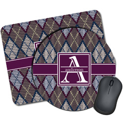 Knit Argyle Mouse Pads (Personalized)