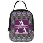 Knit Argyle Neoprene Lunch Tote (Personalized)