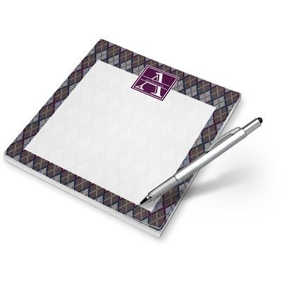 Knit Argyle Notepad (Personalized)