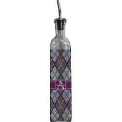 Knit Argyle Oil Dispenser Bottle (Personalized)
