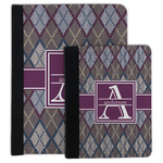 Knit Argyle Padfolio Clipboard (Personalized)