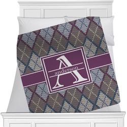 Knit Argyle Blanket (Personalized)