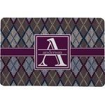 Knit Argyle Comfort Mat (Personalized)
