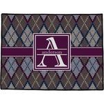Knit Argyle Door Mat (Personalized)