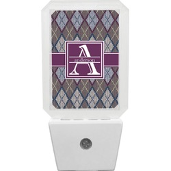 Knit Argyle Night Light (Personalized)