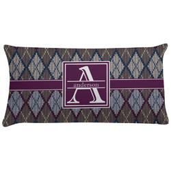 Knit Argyle Pillow Case (Personalized)