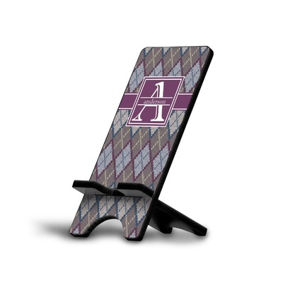 Knit Argyle Cell Phone Stands (Personalized)