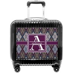 Knit Argyle Pilot / Flight Suitcase (Personalized)