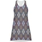 Knit Argyle Racerback Dress (Personalized)
