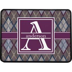Knit Argyle Rectangular Trailer Hitch Cover (Personalized)
