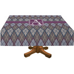 Knit Argyle Tablecloth (Personalized)