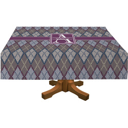 "Knit Argyle Tablecloth - 58""x102"" (Personalized)"