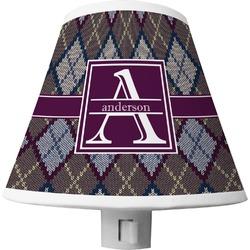 Knit Argyle Shade Night Light (Personalized)