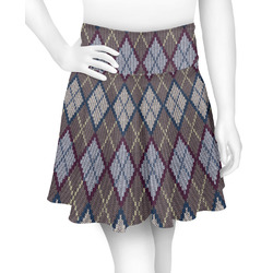 Knit Argyle Skater Skirt (Personalized)