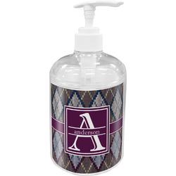 Knit Argyle Acrylic Soap & Lotion Bottle (Personalized)