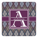 Knit Argyle Square Decal (Personalized)