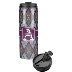 Knit Argyle Stainless Steel Tumbler (Personalized)