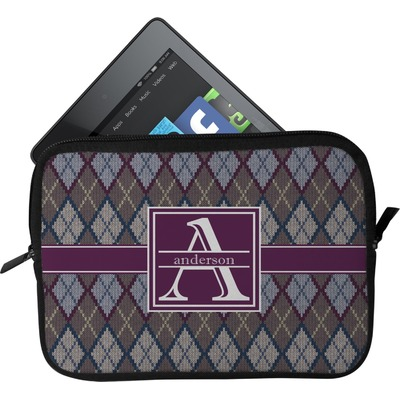 Knit Argyle Tablet Case / Sleeve (Personalized)