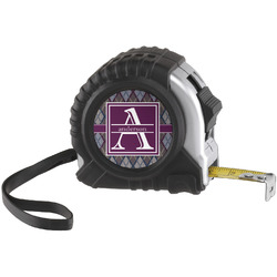 Knit Argyle Tape Measure (25 ft) (Personalized)