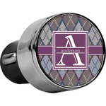 Knit Argyle USB Car Charger (Personalized)