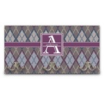 Knit Argyle Wall Mounted Coat Rack (Personalized)