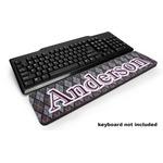 Knit Argyle Keyboard Wrist Rest (Personalized)
