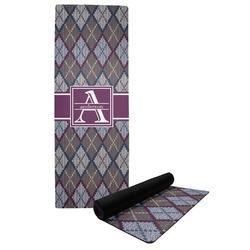 Knit Argyle Yoga Mat (Personalized)