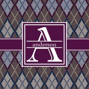 Knit Argyle
