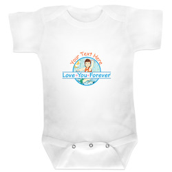 Love You Forever Baby Bodysuit (Personalized)