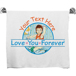 Love You Forever Bath Towel w/ Name or Text