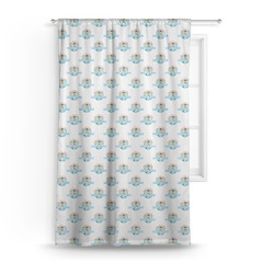 Love You Forever Curtain (Personalized)