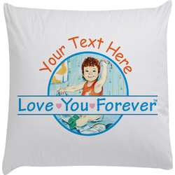 Love You Forever Decorative Pillow Case w/ Name or Text