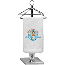 Love You Forever Finger Tip Towel - Full Print w/ Name or Text