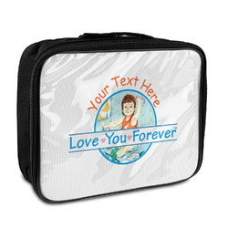 Love You Forever Insulated Lunch Bag w/ Name or Text