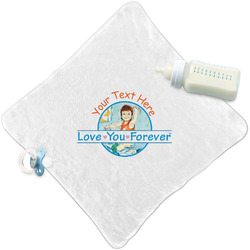 Love You Forever Security Blanket w/ Name or Text