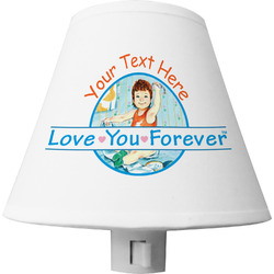 Love You Forever Shade Night Light w/ Name or Text
